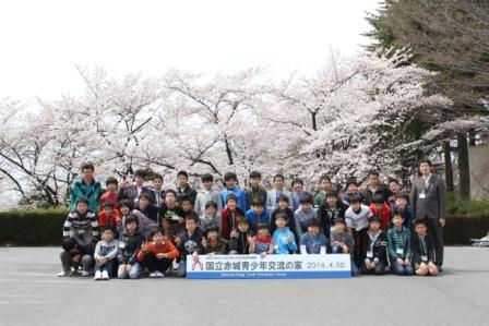 記念撮影(桜3組)
